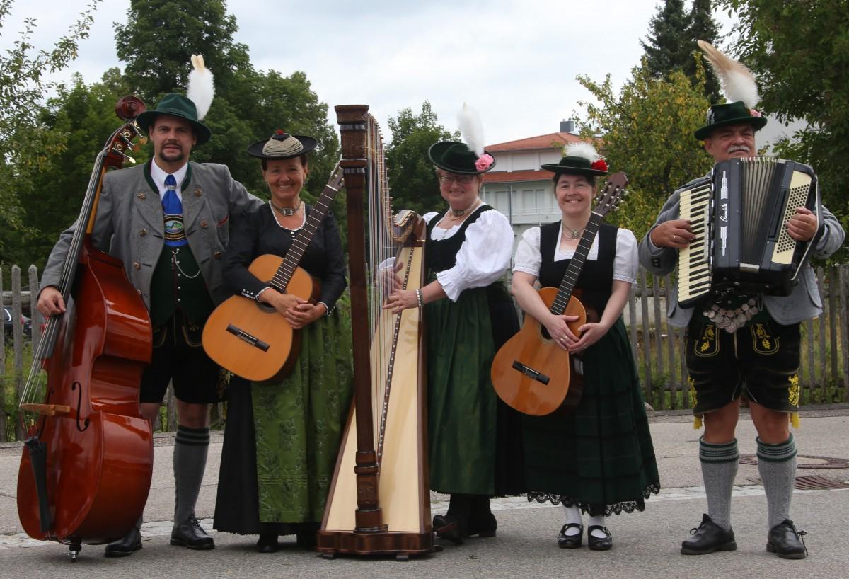 Vereinsfoto Musikanten